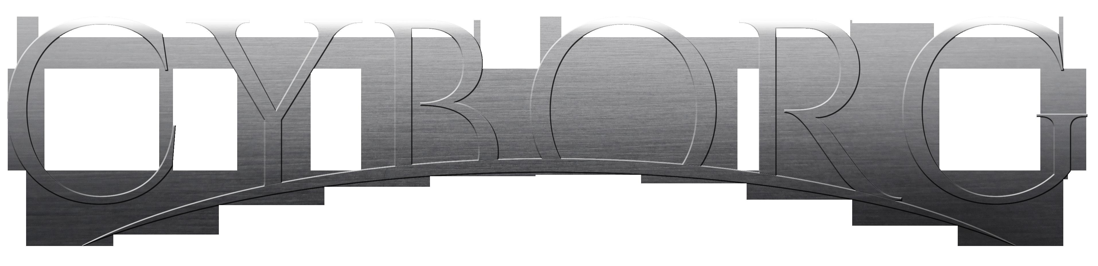 Cyborg Logo Straigt Cut
